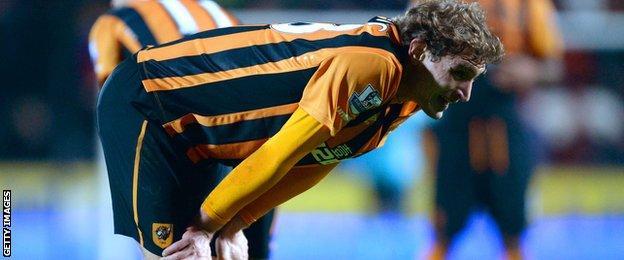 Hull City striker Nikita Jelavic