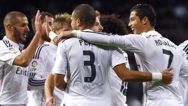 Real Madrid v Celta Vigo