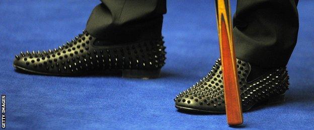 Judd Trump shoes