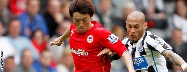 Cardiff City and South Korea international Kim Bo-Kyung