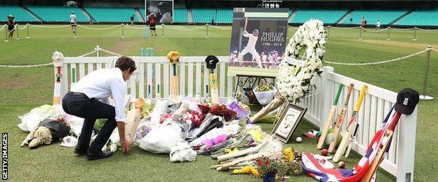 Phillip Hughes tributes