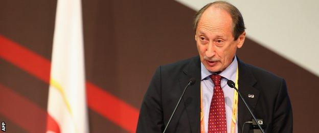 Russian Athletics President Valentin Balakhnichev