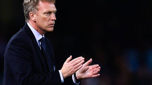 Real Sociedad manager David Moyes