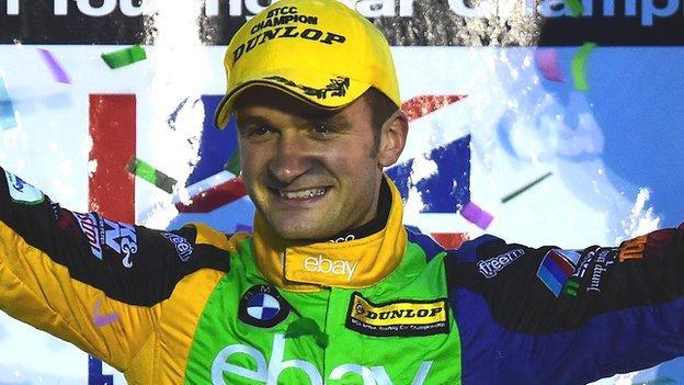 Colin Turkington won the 2014 British Touring Car Championship