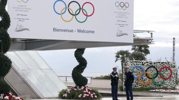 IOC meeting in Monaco