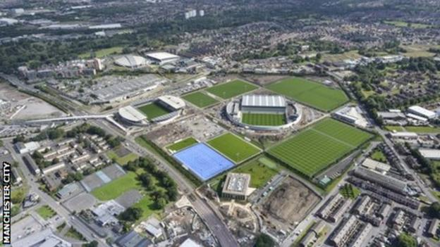 Manchester City's new academy