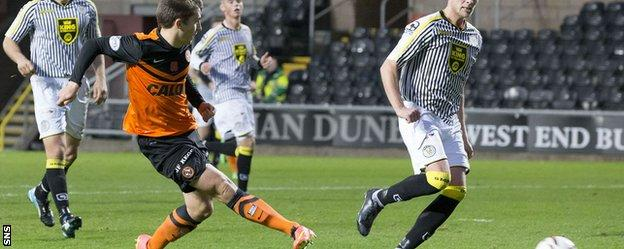 Telfer scores for Dundee United