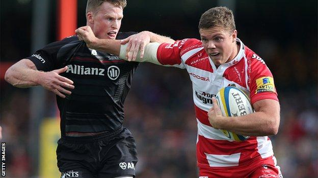 Henry Purdy (right), Chris Ashton (left)