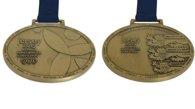 2015 Island Games gold medals