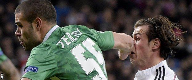 Gareth Bale and Georgi Terziev