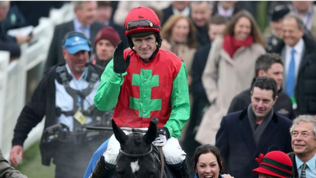 County Antrim-born jockey AP McCoy was crowned champion jockey for a remarkable 19th time