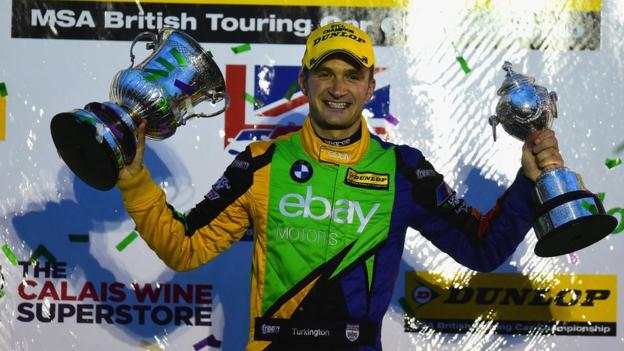 Colin Turkington was crowned British Touring car champion in October, beating his nearest rival by 35 points. He had previously won the series in 2009.