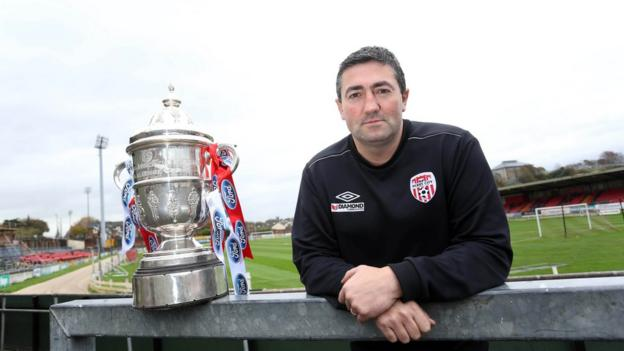 Derry City reached the final of the FAI Cup final - but lost 2-0 to St Patrick's Athletic
