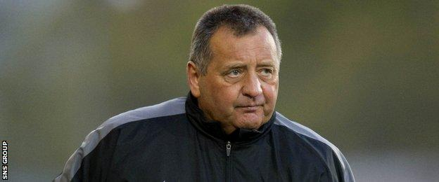 Former Aberdeen and Dunfermline manager Jimmy Calderwood