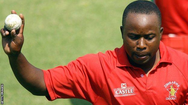 Zimbabwe's Prosper Utseya