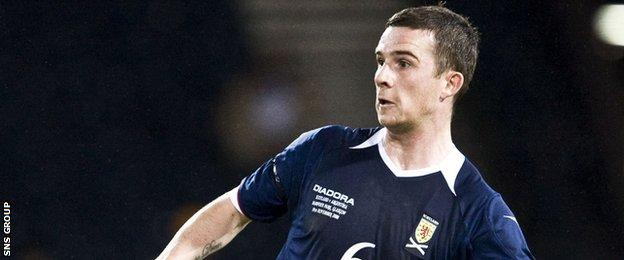 Barry Ferguson played 45 games for Scotland
