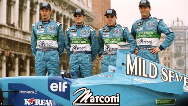 2001 Benetton team