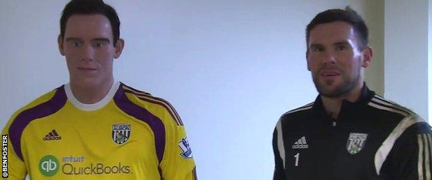 Ben Foster and his wax work