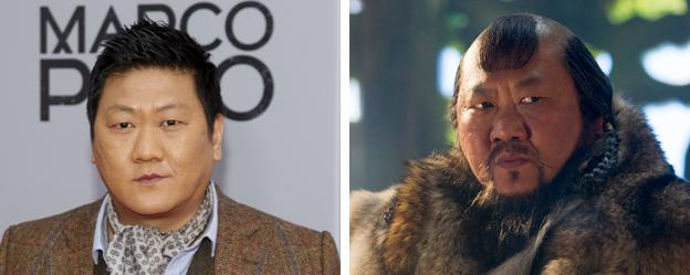 Benedict Wong plays Kublai Khan in Marco Polo