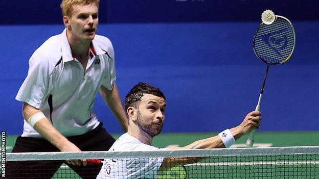 Badminton Marcus Ellis and Chris Langridge