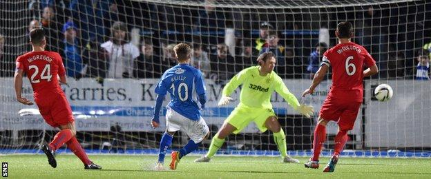 Gavin Reilly puts Queen of the South 2-0 in front