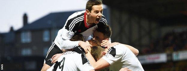 Aberdeen have won five of their last six games in the Scottish Premiership