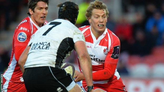 Billy Twelvetrees and James Hook