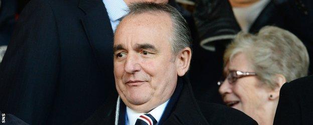 Rangers non-executive dirctor Derek Llambias