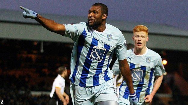 Reda Johnson scores against Port Vale