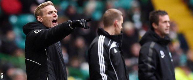 St Mirren caretaker manager Gary Teale