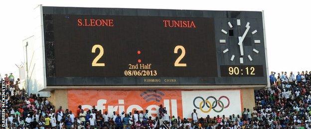 Sierra Leone v Tunisia