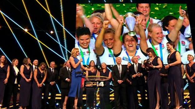 Sports Personality 2014: England Women win Team of Year award