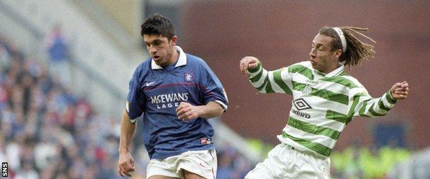 Could ex-Rangers favourite Rino Gattuso (left) be the next Rangers manager?