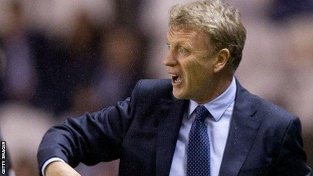 Real Sociedad boss David Moyes