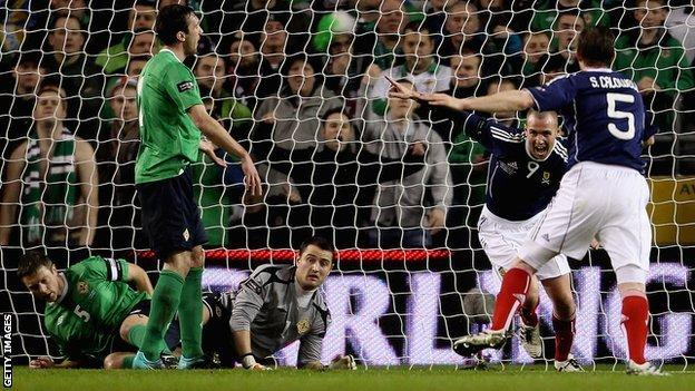 Scotland beat Northern Ireland 3-0 when the teams last met