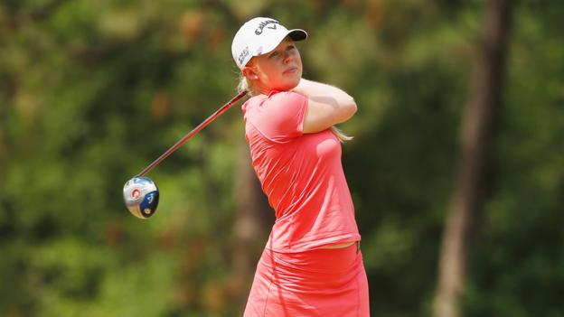 Jordanstown girl Stephanie Meadow finished in a superb third place in the US Open, her first ever tournament as a professional.