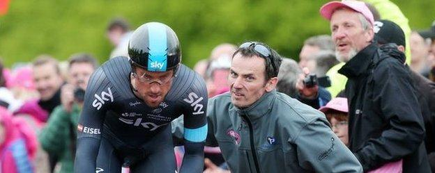 Thousands of spectators lined the streets of Belfast to watch the opening stage of the Giro d'Italia in May.