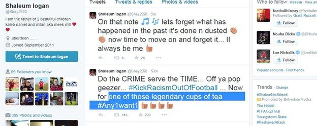 Shay Logan's tweets