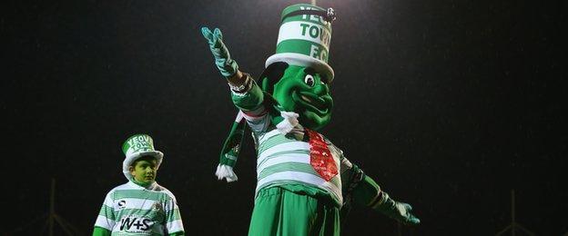 Yeovil's mascot