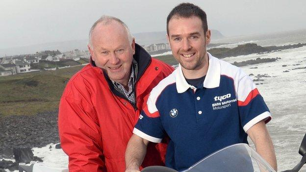 Alastair Seeley will be on board BMW machinery at the North West 200 in May