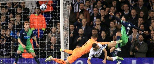 Tottenham v Newcastle
