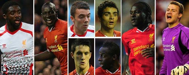 Liverpool signed eight players in the summer of 2013 for a total of £48.5m