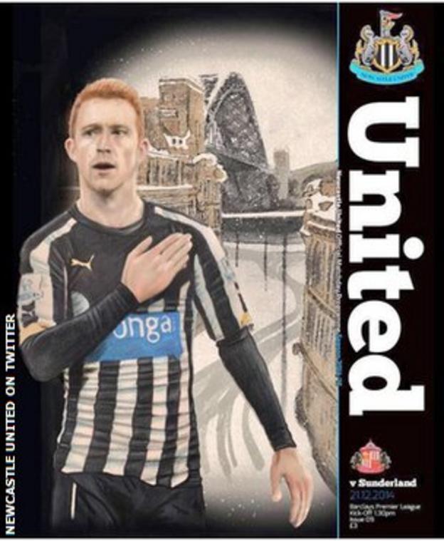 Newcastle United programme