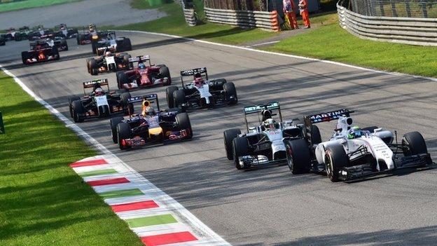 2014 Italian Formula 1 Grand Prix