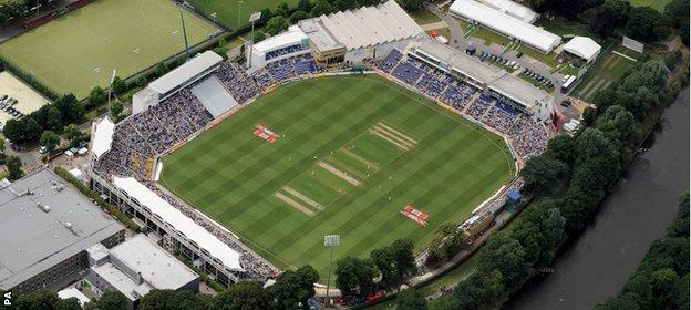The Swalec Stadium in Cardiff will host the first 2015 Ashes Test in July