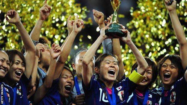 Japan win Women's World Cup