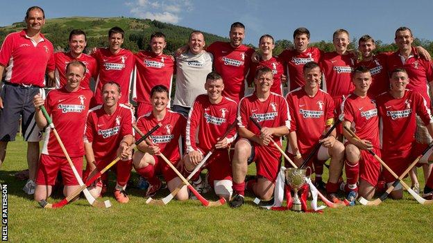 Bute shinty team