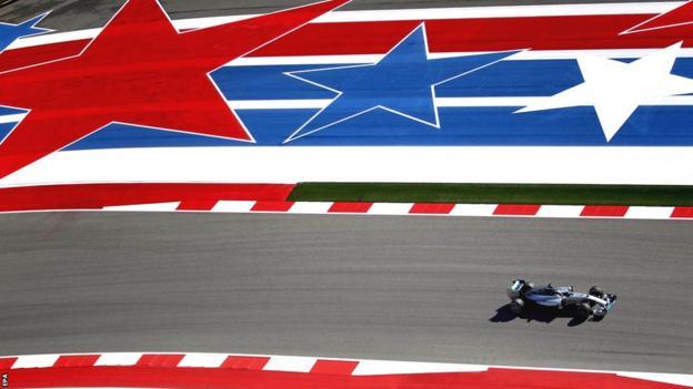 Nico Rosberg in Texas