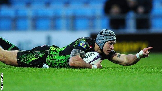 Tom James has made 28 appearances for Exeter since joining them for the start of the 2013-14 season