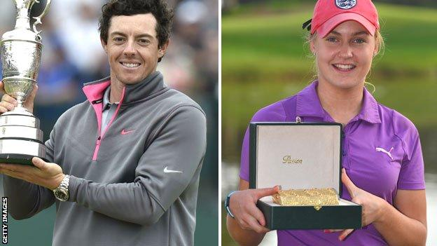 Rory McIlroy and Charley Hull
